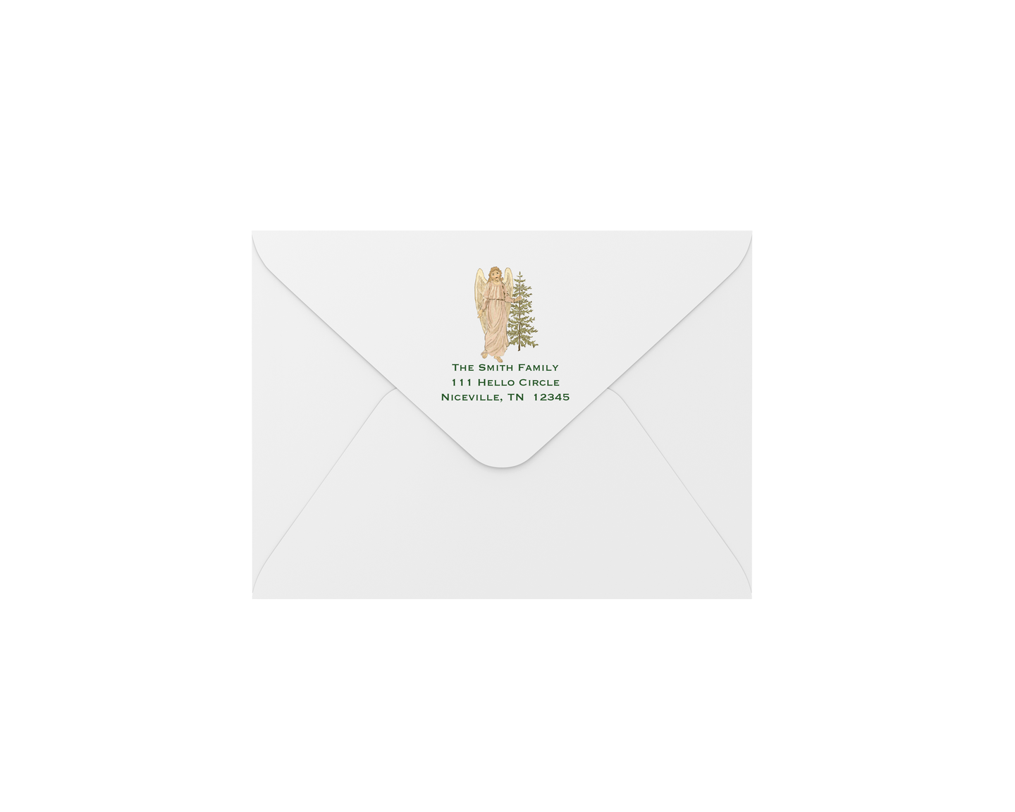angel rejoice envelopes - address printing