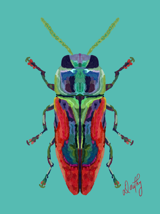 Beetle 6 Wall Art