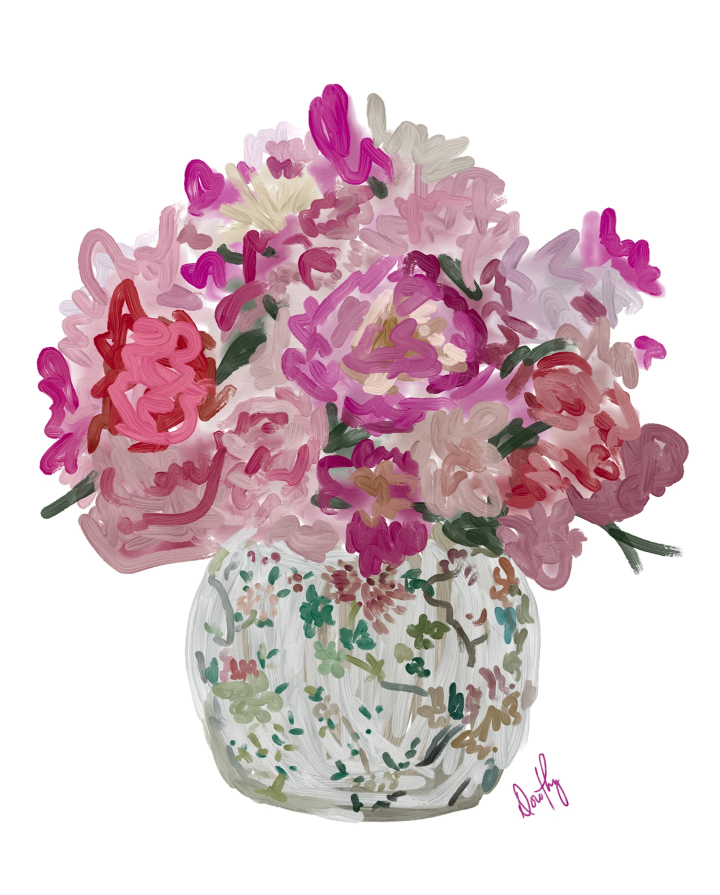 Chinoiserie Florals 2 - Dorothy Art