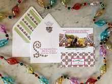 gingerbread candy envelope liner