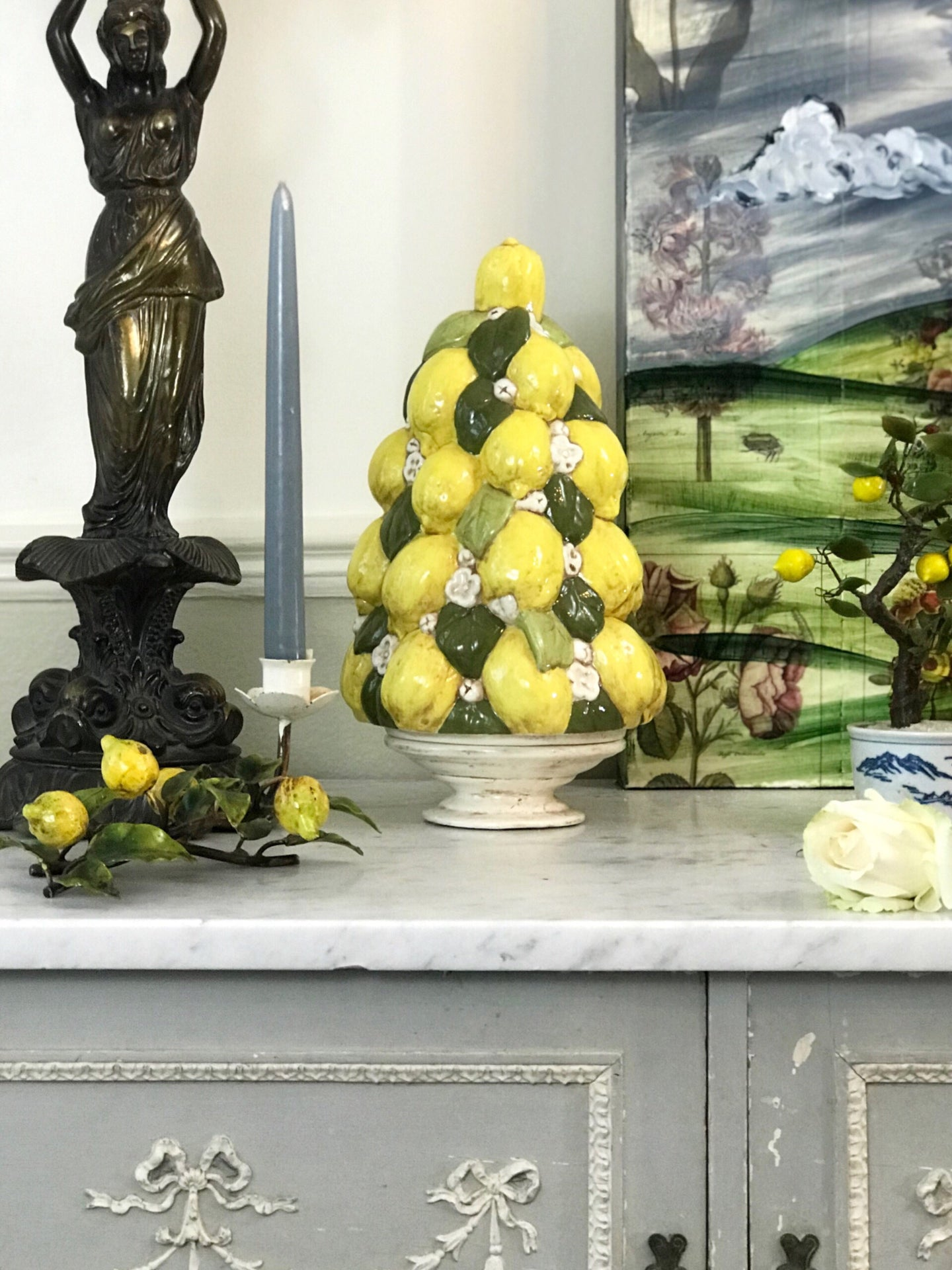 Lemon Tree Topiary - Dorothy Art
