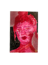 Portraits of Puzzling Times - Pink 1 - Dorothy Art
