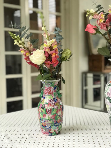 Vase - Hot Pink Chinoiserie - Dorothy Art