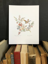 Bird Flying Print - Dorothy Art