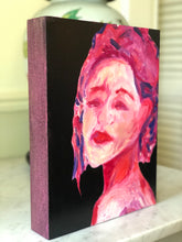 Portraits of Puzzling Times - Hopeful for Rainbow Vision in Pink - Dorothy Art