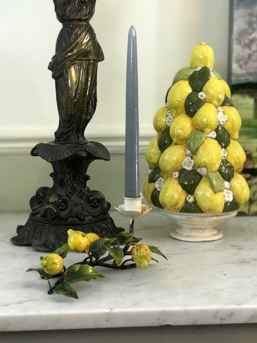 Lemon Tree Candlestick - Dorothy Art