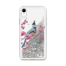 Bird Robin - Liquid Glitter Phone Case