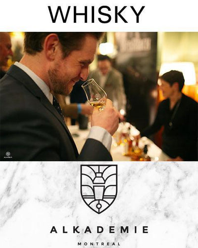 Alkadémie - Whisky classes by Alambika - Alambika Canada