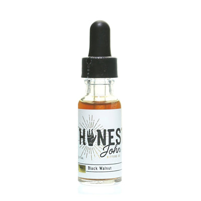 Black Walnut Bitters 0.5oz by Honest John Bitters Co - Alambika Canada