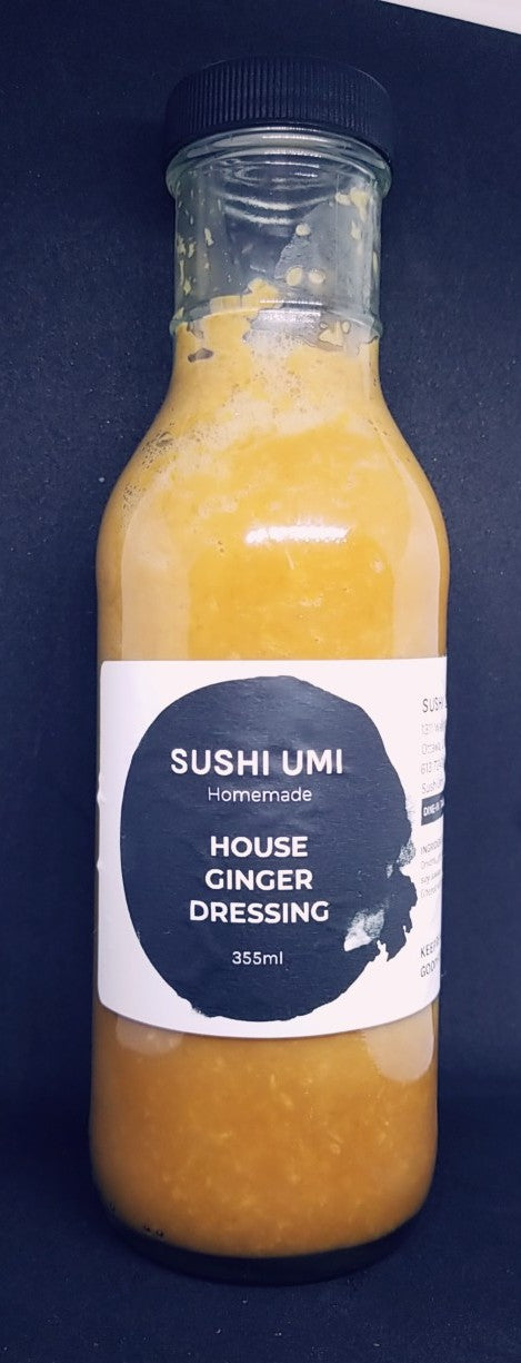 House Ginger Dressing