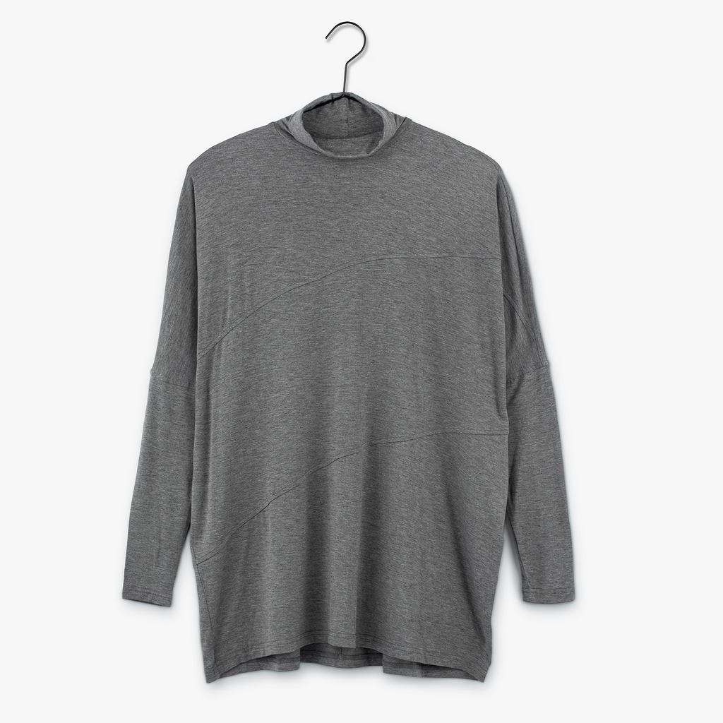 Swing Turtleneck | Grey