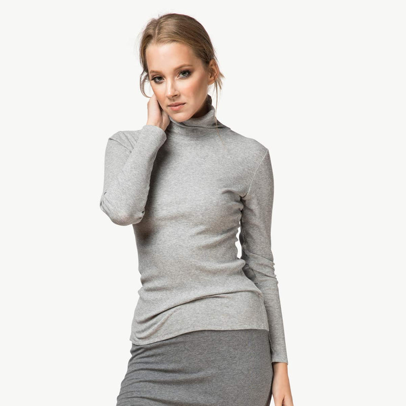 Turtleneck | Light Gray [Final Sale]