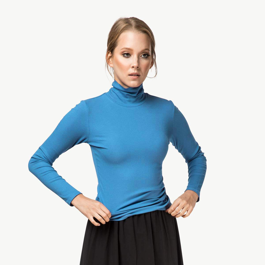 Turtleneck | Electric Blue [FINAL SALE]