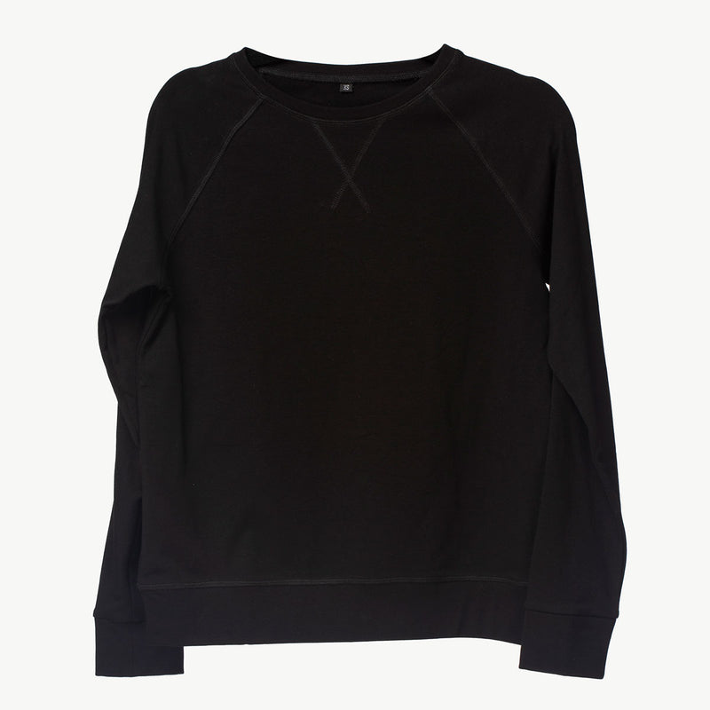 Crewneck Sweater |Black