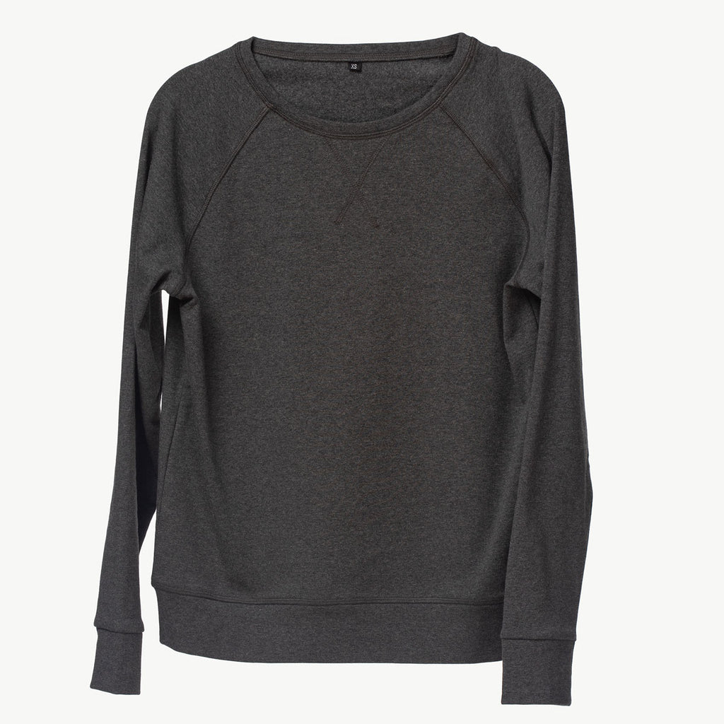 Crewneck sweater | Charcoal