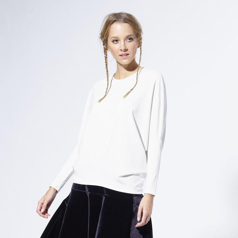 Dolman Sweater |White [Final Sale]