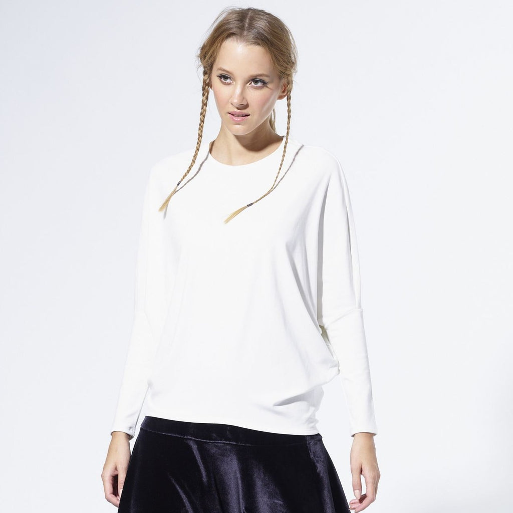 Dolman Sweater |White
