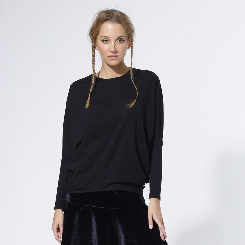 Dolman Sweater |Black