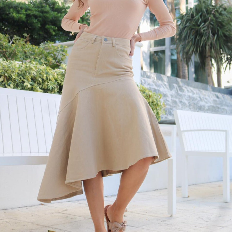 Resort Skirt | Tan