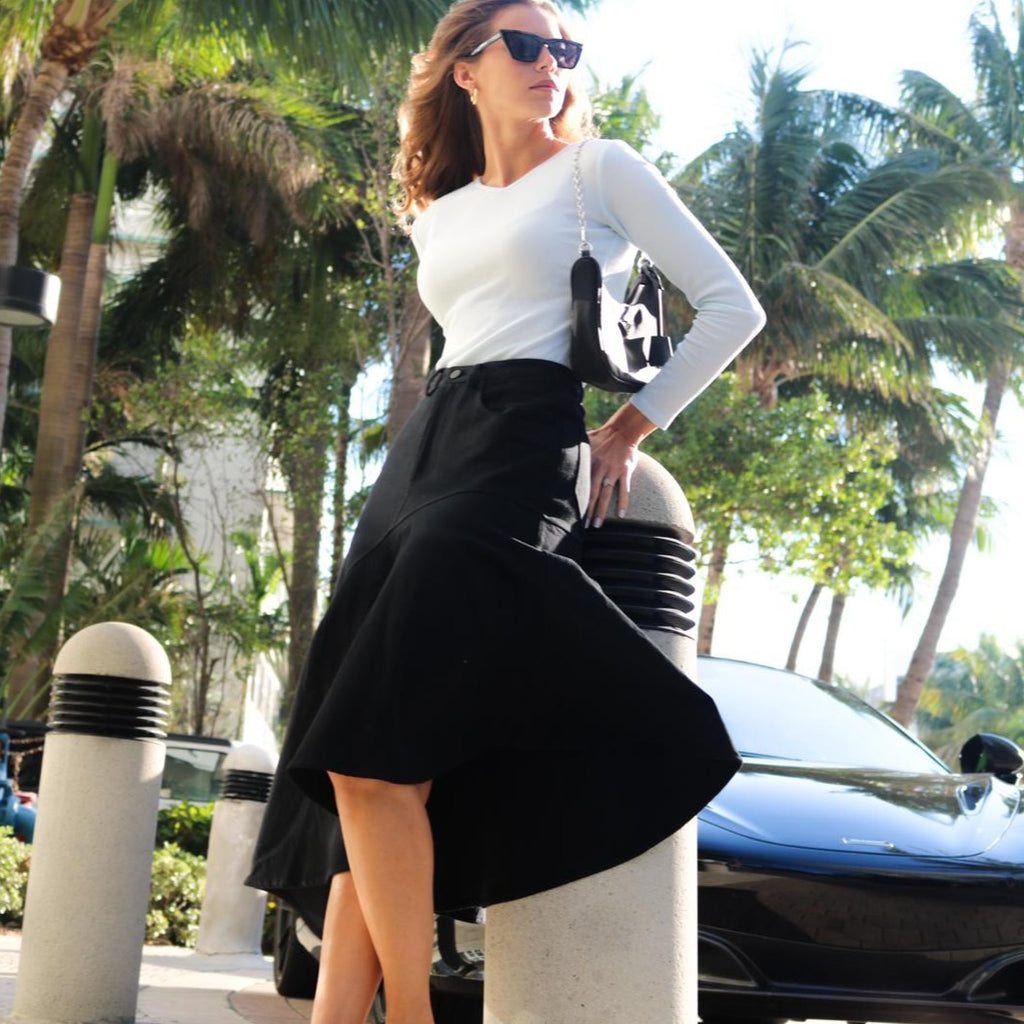 Resort Skirt | Black