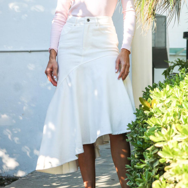Resort Skirt | White