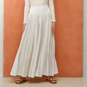 Pixie Skirt | White