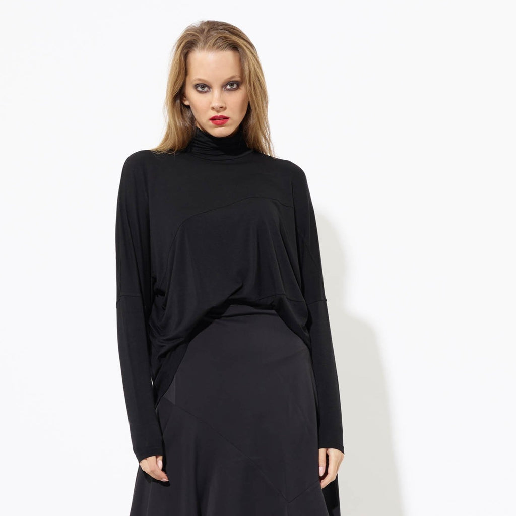 Swing Turtleneck - Black