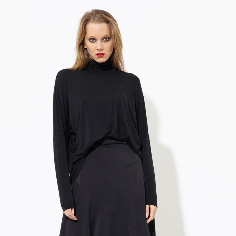 Swing Turtleneck | Black