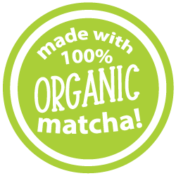 Contains 100% Organic Matcha