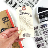 PRE-ORDER: Day By Day - 6x8 Clear Stamp Set