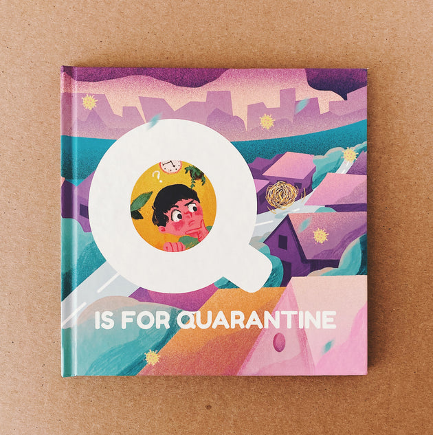 Q is for Quarantine - Children's Book