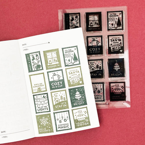 Christmas Post - 4x6 Clear Stamp Set