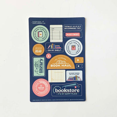 Good Reads - 4x6 Sticker Sheet