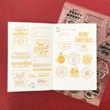 Good Stuff Inside - 6x8 Clear Stamp Set