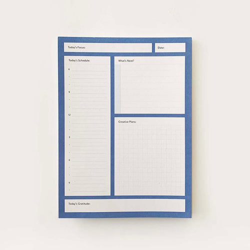 Daily Planner Pad - 5.5 x 7.5 in.