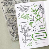 Everyday Greenery by Lifestory Market - 4x6 Clear Stamp Set