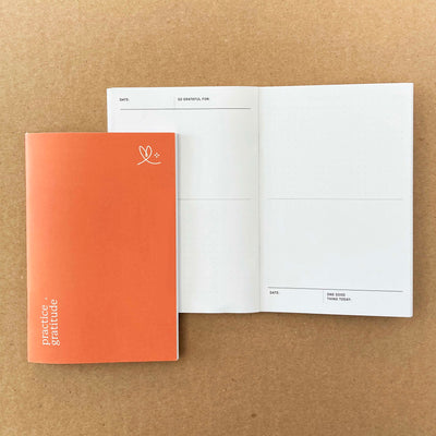 Practice Gratitude - Mini Book + Stickers