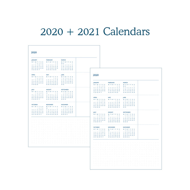 Let's Be Explorers Undated Planner - 2020 Edition