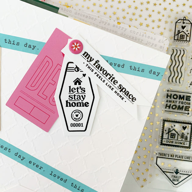Passport: Home - 4x6 Clear Stamp Set
