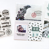 Home for the Holidays - 4x6 Clear Stamp Set