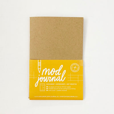 Mod Journal - 4x6 Mini Book