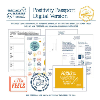 Positivity Passport Kit - Digital Version