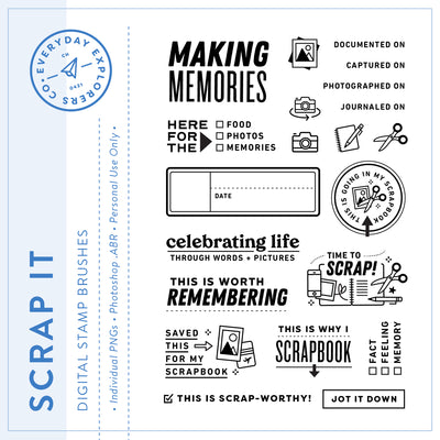 Scrap It - Digital Stamp Set