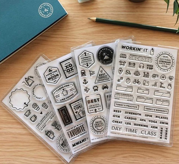 Let's Get Organized - Stamp Sleeves (Set of 8)