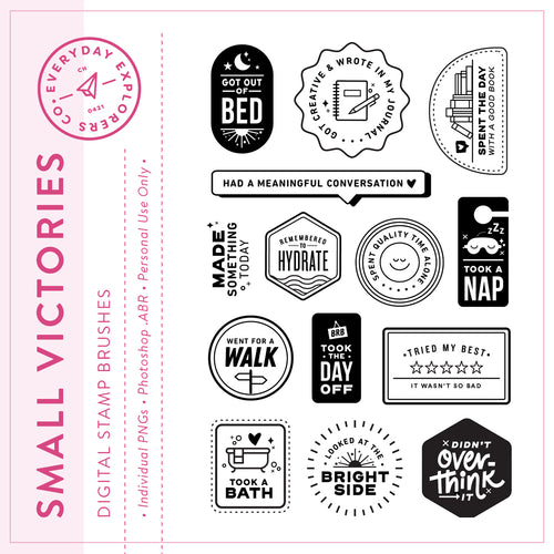 Small Victories - Digital Stamp Set