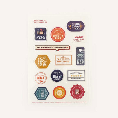 Small Victories - 4x6 Sticker Sheet