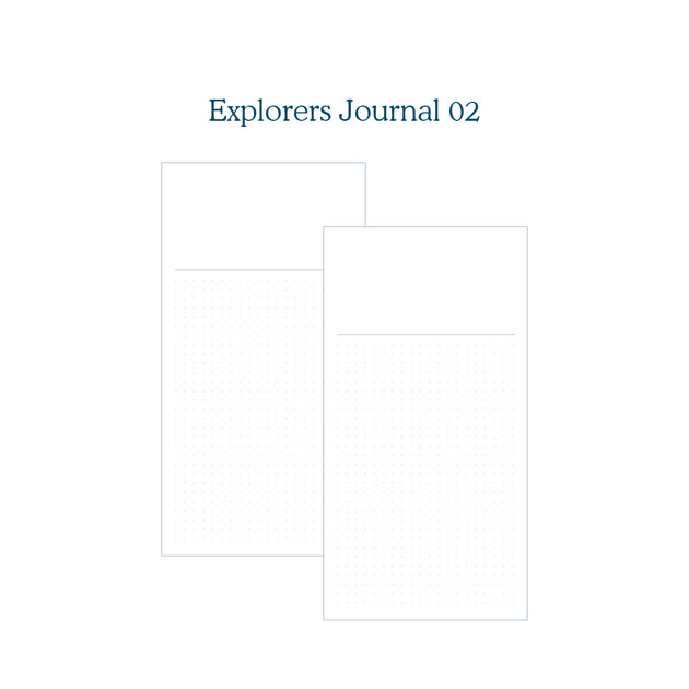 Explorers Journal 02 - TN Insert