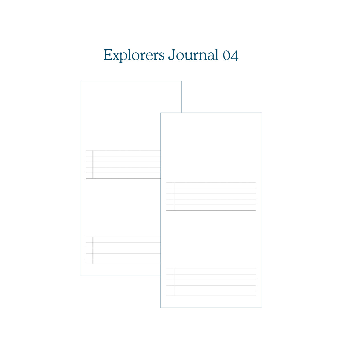 Explorers Journal 04 - TN Insert (New Version!)