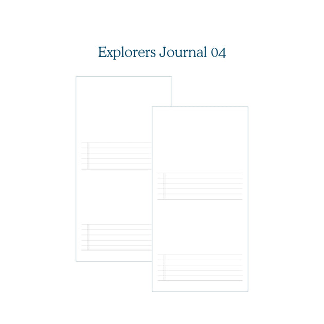 Explorers Journal 04 - TN Insert