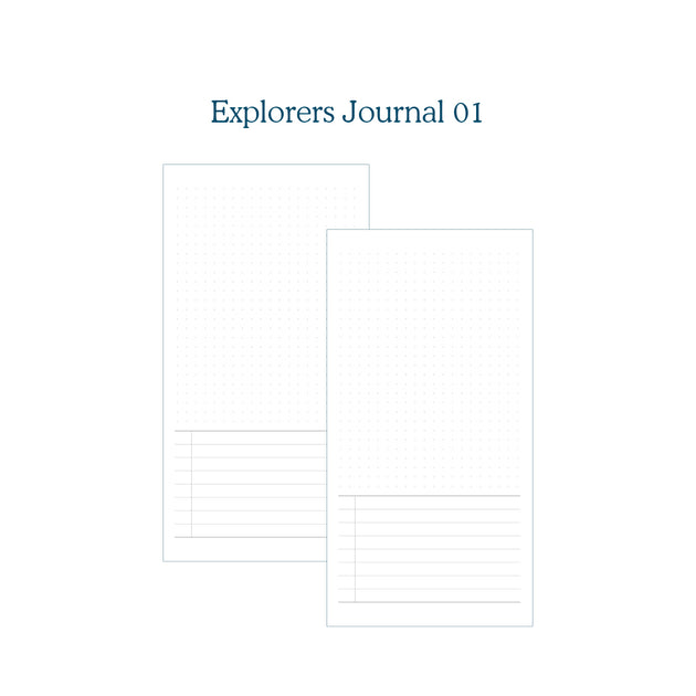 Explorers Journal 01 - TN Insert